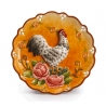 Talerz ozdobny z kogutem 20 cm - Le Coq Palais Royal 35990