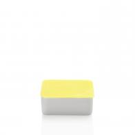 Miska z żółtą pokrywką 15 x 15 cm - Przyjaciele Kuchni Arzberg 43330-609997-28469