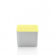 Miska z żółtą pokrywką 15 x 15 cm - Przyjaciele Kuchni Arzberg 43330-609997-28470