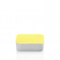 Miska z żółtą pokrywką 18 x 18 cm - Przyjaciele Kuchni Arzberg 43330-609997-28471