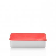 Miska z czerwoną pokrywką 15 x 25 cm - Przyjaciele Kuchni Arzberg 43330-609993-28472