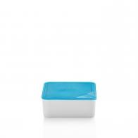 Miska z niebieską pokrywką 15 x 15 cm - Przyjaciele Kuchni Arzberg 43330-609982-28469