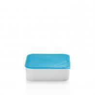 Miska z niebieską pokrywką 18 x 18 cm - Przyjaciele Kuchni Arzberg 43330-609982-28471