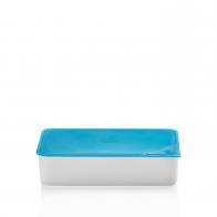 Miska z niebieską pokrywką 15 x 25 cm - Przyjaciele Kuchni Arzberg 43330-609982-28472