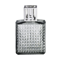 Lampa zapachowa Diament szara 14 cm - Maison Berger