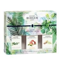 IMMERSION Liczi / Biała herbata / Eukaliptus zestaw 3 zapachów - Maison Berger