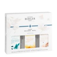 AROMA Relax / Happy / Energys zestaw 3 zapachów - Maison Berger