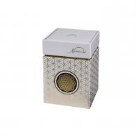 Pudełko na herbatę Kwiat Życia białe 11 cm - Lotus Goebel 27051101