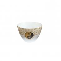 Świecznik - tealight Kwiat Życia Biały 7,5 cm - Lotus Goebel 23120141