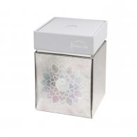 Pudełko na herbatę Kwiat Lotosu Róża 11 cm - Lotus Goebel 27051091