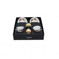 Zestaw filiżanek kawą Davidoff Maria Poinsecja