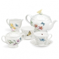 Zestaw do herbaty dla 2 osób - Butterly Meadow Lenox 6386635