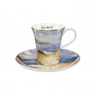 Filiżanka do espresso 0,1l Ścieżka przez kukurydzę C. Monet 67011601 Goebel