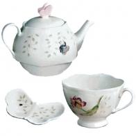 Zestaw do herbaty - Butterly Meadow Lenox 6444723