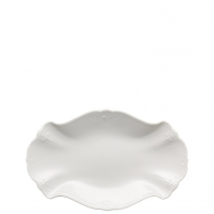 Półmisek owalny 24 cm - Baronesse White