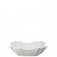 Miska kwadratowa 23 cm - Baronesse White