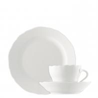 Zestaw do kawy 18 sztuk - Maria Theresia White