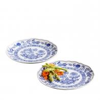 Talerze - zestaw 2 sztuk 20 cm - Blue Onion Hutschenreuther
