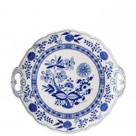 Półmisek z uchwytami 27 cm - Blue Onion