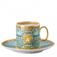 Filiżanka do kawy 230 ml - Versace Scala Palazzo Verde 19335-403664-14740