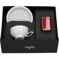 Zestaw filiżanka z herbatą Maria Goldlinie