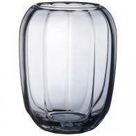 Wazon / szklany świecznik Cosy Grey 23 cm - Coloured DeLight