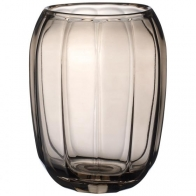 Wazon / szklany świecznik Natural Cotton 23 cm - Coloured DeLight