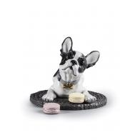 Figurka Buldog francuski 35 cm