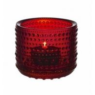 Świecznik - tealight Kastehelmi, czerwony