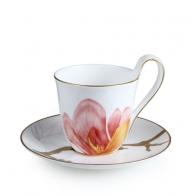 Filiżanka z podstawką Magnolia 270 ml - Flora Royal Copenhagen 2674092