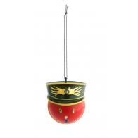 Świąteczna dekoracja Generale Corallo 7 cm