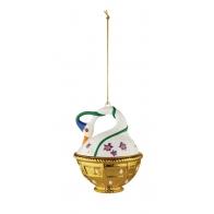 Świąteczna dekoracja Cigno di Primavera 10 cm