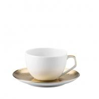 Filiżanka do espresso ze spodkiem - TAC Skin Gold Rosenthal 11280-403255-14716/14717