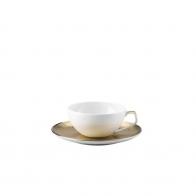 Filiżanka do herbaty ze spodkiem Rosenthal - TAC Skin Gold