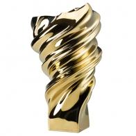 Wazon Squall złoty 32 cm