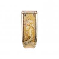 Wazon 24 cm Cztery Pory Roku 1900 - Alfons Mucha Goebel 67-000-73-1