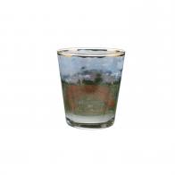 Świecznik - tealight 10 cm - Ścieżka przez Pole Maków - Claude Monet Goebel 66-900-42-1