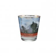 Świecznik - tealight 10 cm - Pole Maków - Claude Monet Goebel 66-900-43-1