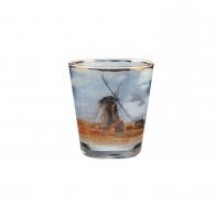 Świecznik - tealight 10 cm - Pole Tulipanów - Claude Monet Goebel 66-900-44-1