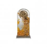 Zegar kryształowy 25 cm Adele Bloch-Bauer - Gustav Klimt Goebel 66-879-41-1