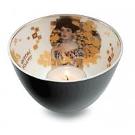 Świecznik - tealight 7,5 cm Adele Bloch-Bauer - Gustav Klimt Goebel 66-522-21-1