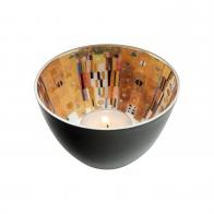 Świecznik - tealight 7,5 cm Drzewo Życia - Gustav Klimt Goebel 66-522-23-1
