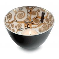 Świecznik - tealight 7,5 cm Drzewo Życia - Gustav Klimt