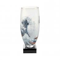 Lampa szklana 33 cm Wielka Fala, Great Wave - Katsushika Hokusai Goebel 66919341