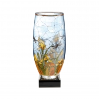 Lampa szklana Irys 33 cm- Louis Comfort Tiffany Goebel 66-919-32-1