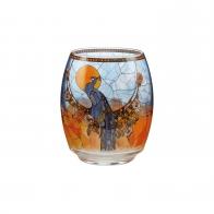 Świecznik - tealight 13 cm - Paw - Louis Comfort Tiffany Goebel 66903681