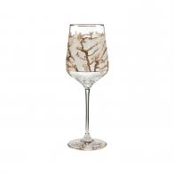 Kieliszek do wina 25 cm - Drzewo Migdałowe Złote - Vincent van Gogh Goebel 66926671