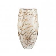 Wazon szklany 35 cm Drzewo Migdałowe Srebrne - Vincent van Gogh Goebel 66909431