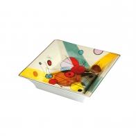 Miska porcelanowa Koła w okręgu 16 x 16 cm - Wassily Kandinsky Goebel 67100171