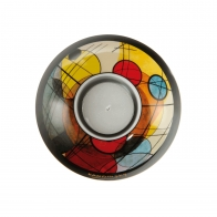 Świecznik - tealight Koła w okręgu 11 cm - Wassily Kandinsky Goebel 67100181
